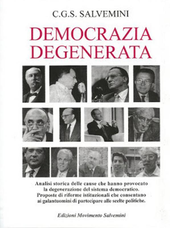 DEMOCRAZIA DEGENERATA.…