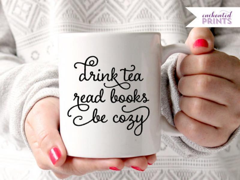 Gli accessori del buon lettore: coffee & tea cups for reader nerds!