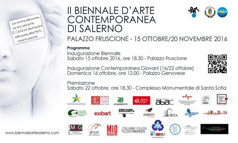 Programma II Biennale d'Arte Contemporanea di Salerno